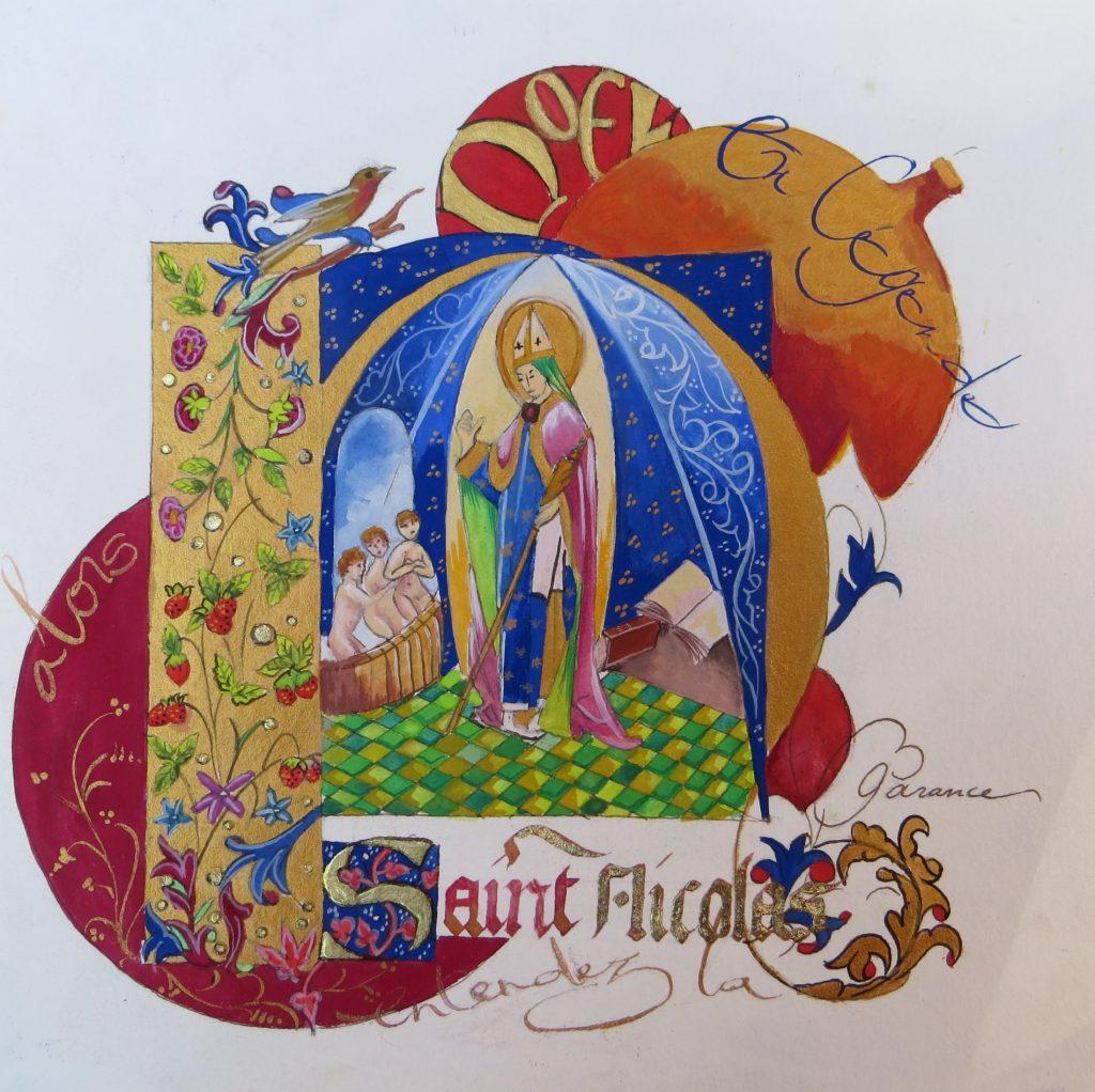 Origianl Carte Saint Nicolas