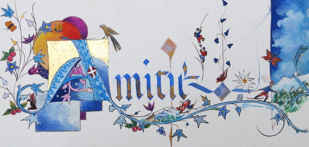 Amitié décor Savoie