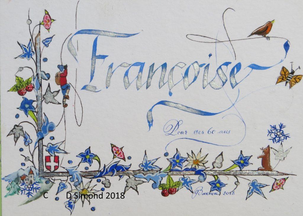 Prénom décor Savoie