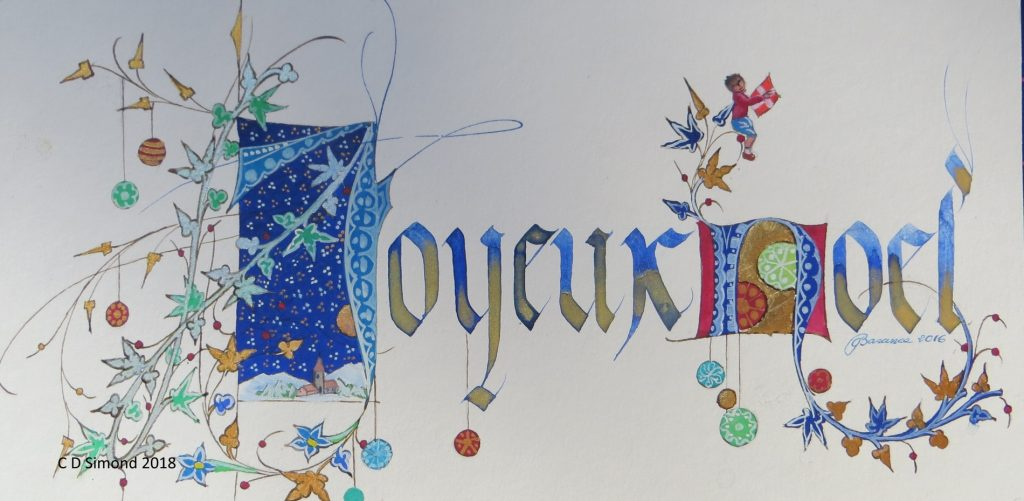 Joyeux Noel décor Savoie