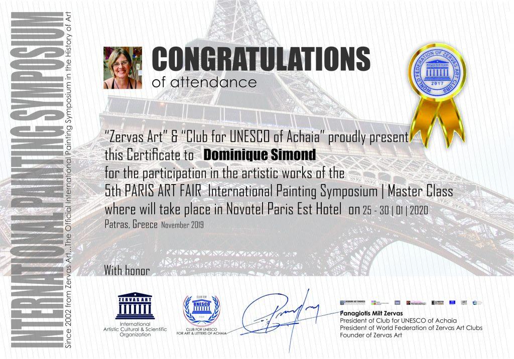 Congratulations Zervas art