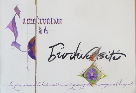 Création calligraphie