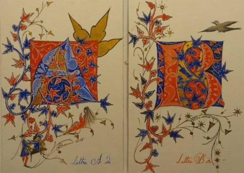 a et b médiévaux