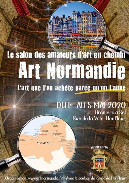 Art Normandie 2020-flyer Honfleur3