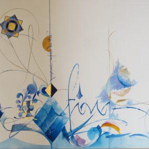 Création calligraphie
