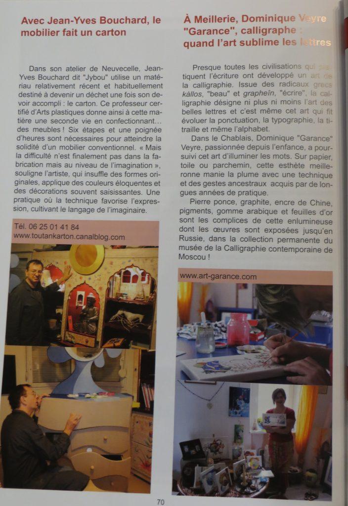 Livre Chablais page interieure
