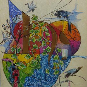 Création enluminure